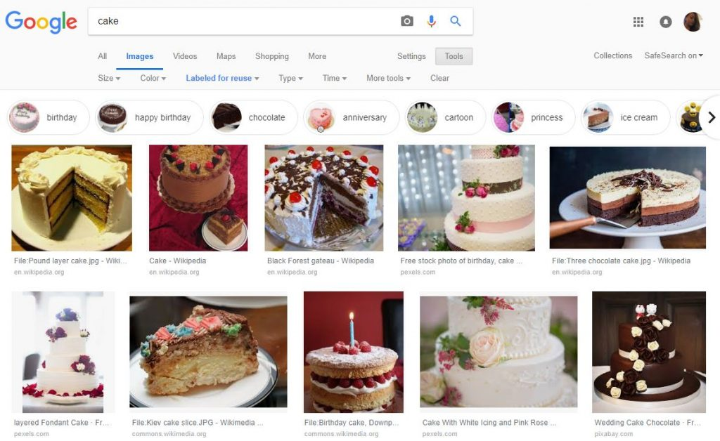 Full list of FREE image sources you can use for your business website 4